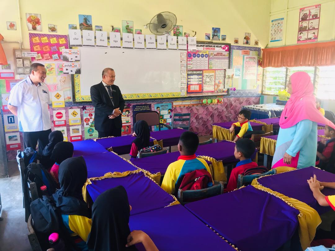 Lawatan Mengejut Tuan Pegawai Ppd Kota Setar Portal Rasmi Sk Haji Ismail