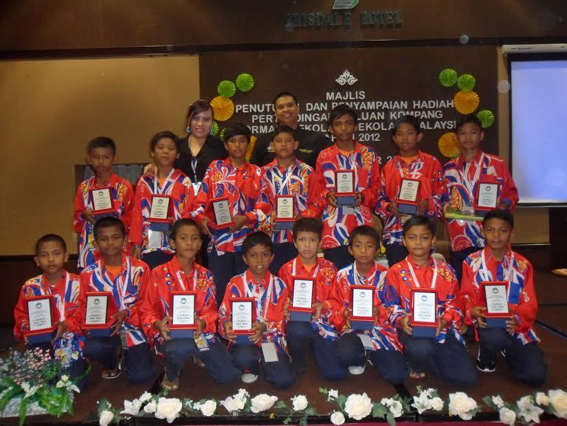 Naib Johan Kompang & Formasi Kebangsaan 2012