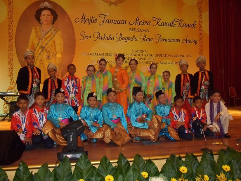 Persembahan Tarian di Istana Negara 2012